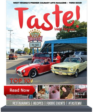 Taste WV Magazine King Tut Beckley