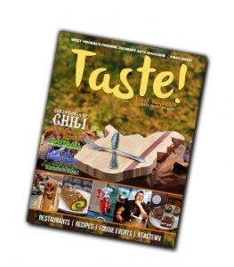 Taste WV Magazine Cover - Fall 2014