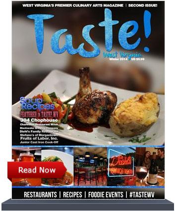 Taste WV Magazine - CRWeek