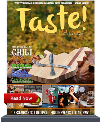 Taste WV Magazine Fall 2014