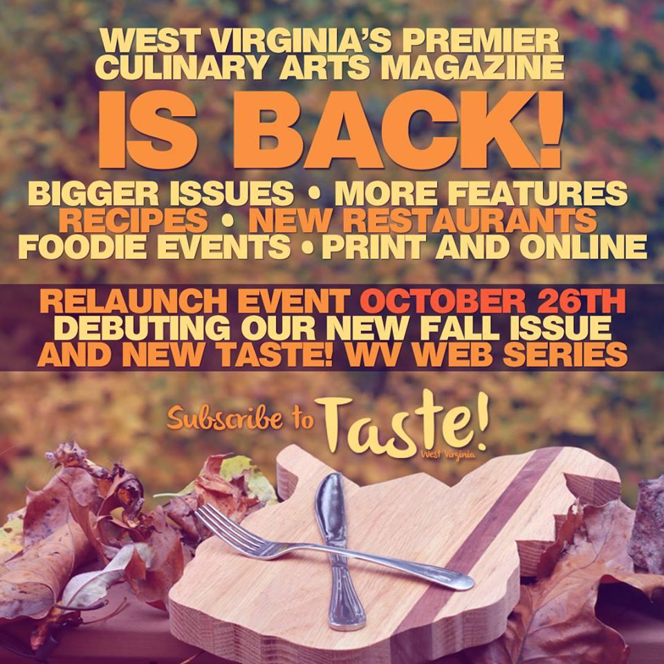 taste wv event
