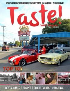 Taste WV Magazine - Spring - Summer Cover - FB
