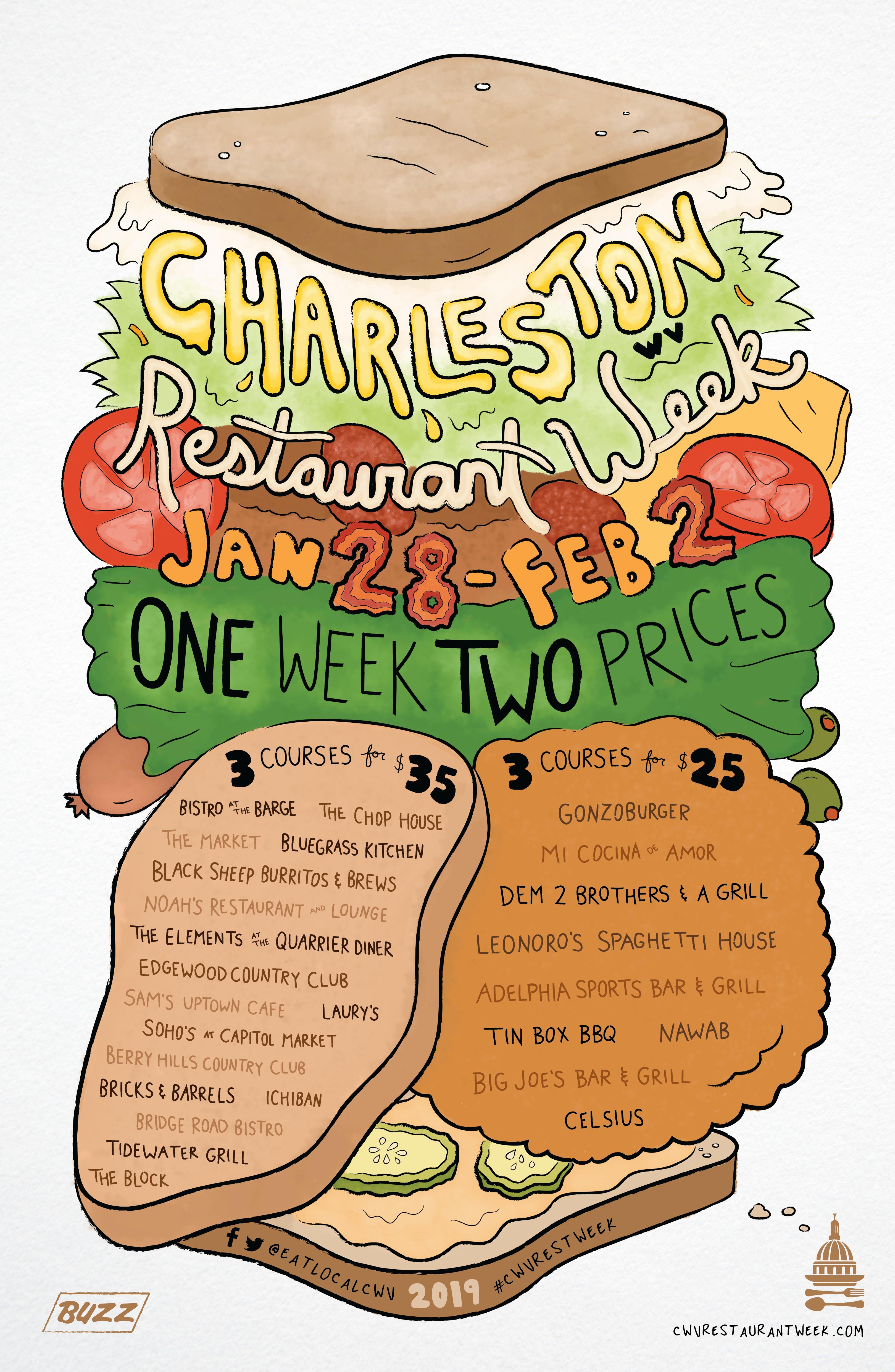 Bluegr Kitchen Charleston Wv | Community News Charleston Restaurant Week 2019